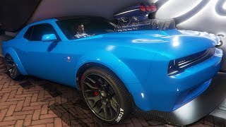I Did Donuts in The Most Powerful Muscle Car At The Casino - GTA Online Casino DLC