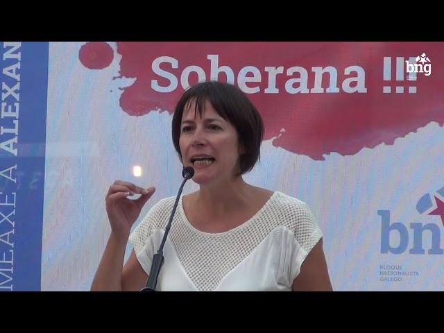 Intervención de Ana Pontón no acto do Día da Galiza Mártir en Pontevedra