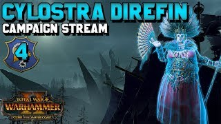 Cylostra Direfine! Lets Play Campaign! #4 BACK FROM THE FLAMES | Curse of the Vampire Coast