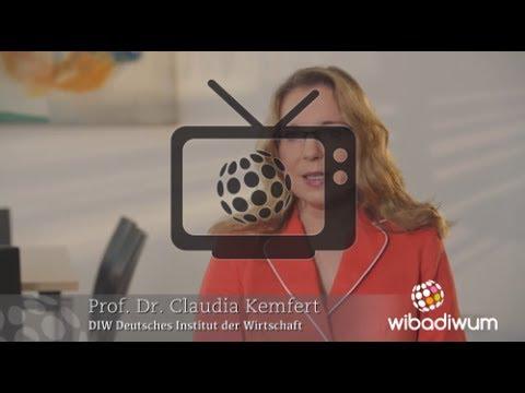 Dr. Claudia Kemfert, Deutsches Institut für Wirtschaftsforschung