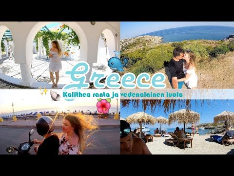 Greece Rhodes 2017 🇬🇷 | Kalithea ranta & Vanhakaupunki 🐳✨💏