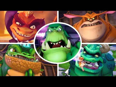 Spyro Reignited Trilogy - All Bosses (No Damage)