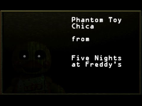 GIMP Edits: Phantom Toy Chica from Five Nights at Freddy's