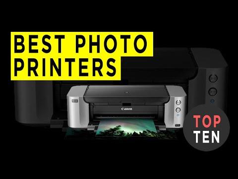 Top Ten Best Photo Printers - 2020