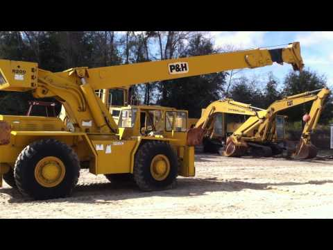 1975 P&H R200 Rough Terrain Crane From Big Iron, Inc. - A Used Heavy Equipment Dealer