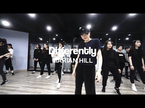 YELLZ CHOREOGRAPHY | DIFFERENTLY - MARIAN HILL | E DANCE STUDIO | GIRLISH CLASS | 이댄스학원 걸리쉬댄스