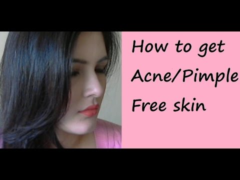 how to get rid of pimples for oily skin