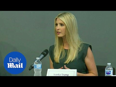 Ivanka Trump tes worker training on Illinois tour  Daily Mail
