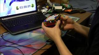 8x8 rubik s cube world record 5 58 65