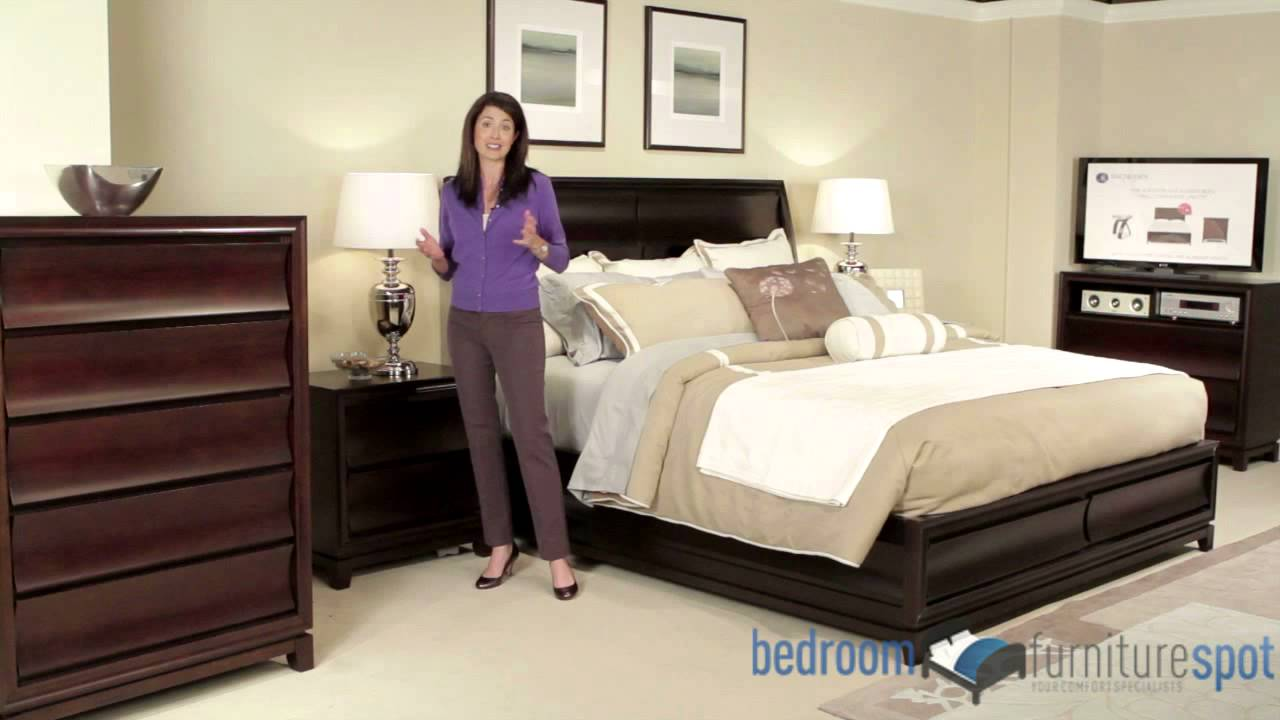 Meridian Bedroom Furniture Magnussen Meridian Bedroom Set Youtube