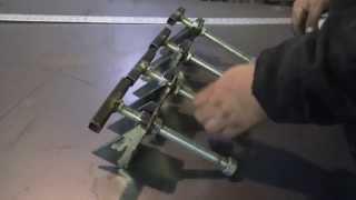 4' X 6' Welding Table Build (part 2)