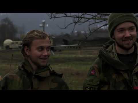 DFN:U.S. Marines Insert Norwegian Reconnaissance Troops VOLL, NORWAY 11.03.2018