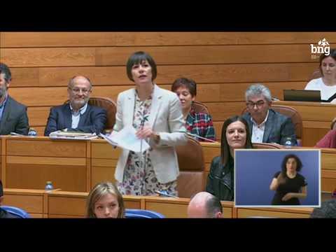 """Ana Pontón a Feixóo: """"O centralismo é un problema para o desenvolvemento de Galiza"""""""