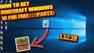 wINDOWS 10 EDITION MINECRAFT INDIR