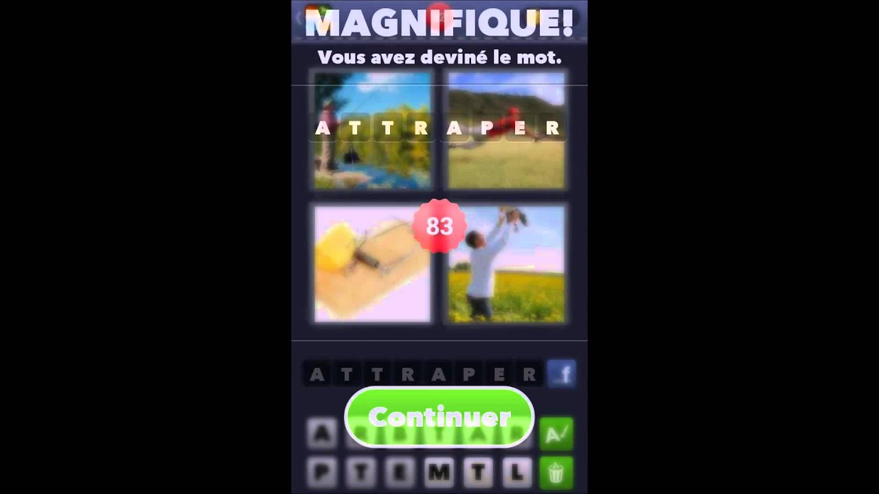 Solution du jeu 4 images 1 mot  de 51 à 100