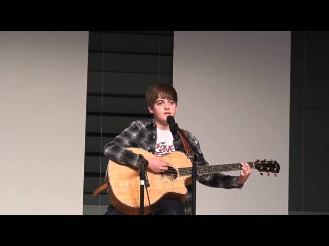 "Cole King Performs ""Rainbow Connection"" at 7th Grade Talent Show"