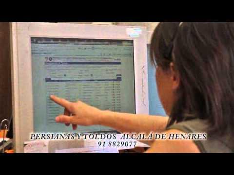 Persianas y toldos en alcala de henares 91 882 90 77 youtube for Toldos alcala de henares