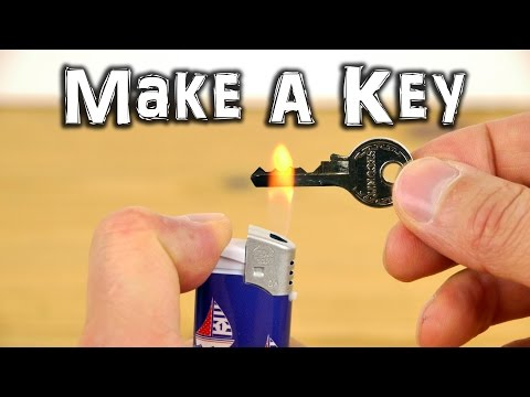 DIY: How to make an emergency spare key