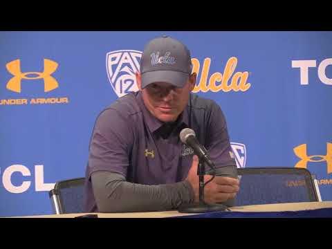 Jim Mora Post Game Presser - Hawaii vs. UCLA 9/9/17