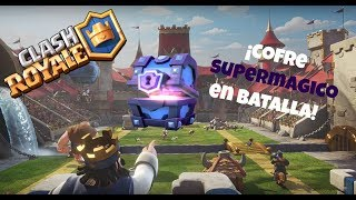 Encontramos Cofre Supermagico En Batalla/Clash Of Clans & Clash Royale