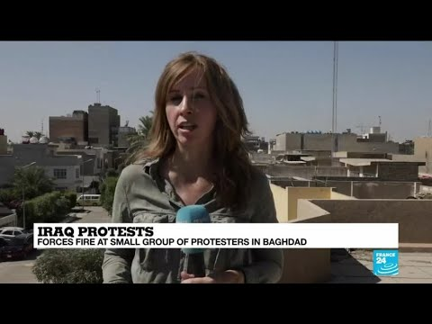 Iraqi PM's speech unlikely to quell protests, FRANCE 24's Simona Foltyn reports