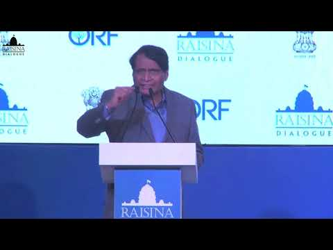 Suresh Prabhu, Minister of Commerce and Industry, India during Innovation and Creation