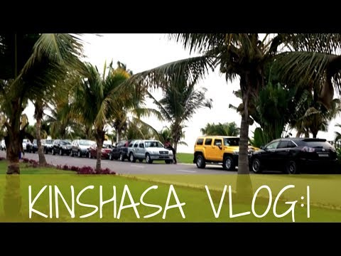 VLOG 2: MY FIRST TRIP BACK TO CONGO| KIN LA BELLE 2017