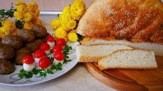 Картофельный Хлеб рецепт и СОЧНЫЕ Котлеты в Духовке Вкусная домашняя выпечка и кулинария