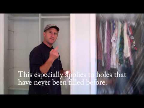 Filling Nail Holes (House Painting Tips)