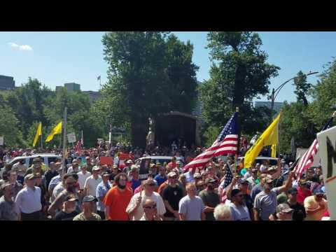 MASSACHUSETTS STATE HOUSE.. July 23rd 2016.. Rally for our gun rights!