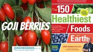 GOJI BERRIES :: 150 Healthiest Foods