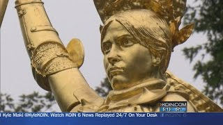 Where We Live: Portland's Joan of Arc statue