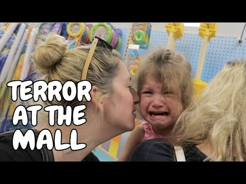 TODDLER TERROR AT THE MALL