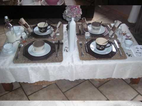 d fi de table th caf ou chocolat youtube. Black Bedroom Furniture Sets. Home Design Ideas