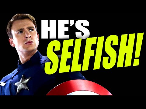 APPARENTLY CAPTAIN AMERICA IS SELFISH ACCORDING TO CBR!