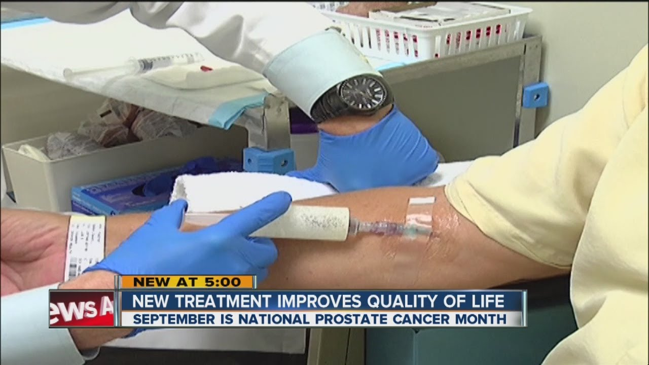 prostate cancer treatment with injections