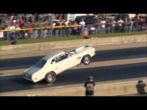 Dodge Demon Wheelie At A Wheelie Competition