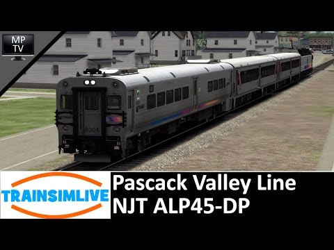 MattPlaysTV@1080P - Train Simulator - Pascack Valley Line, NJT ALP45-DP