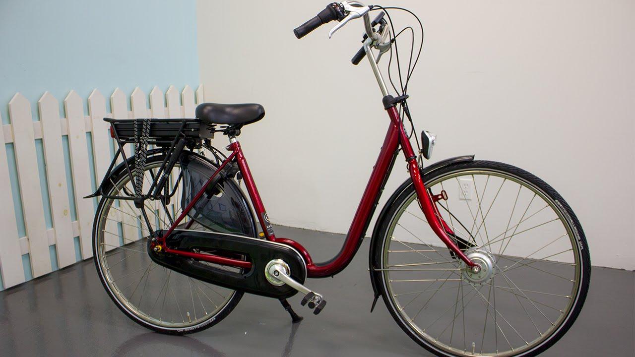 urkai european bikes azor electric dutch bike youtube. Black Bedroom Furniture Sets. Home Design Ideas