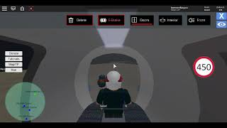 Roblox Hyperloop Simulator Driving the 2014 Pod Design 2 with 738 Speed *Crash*