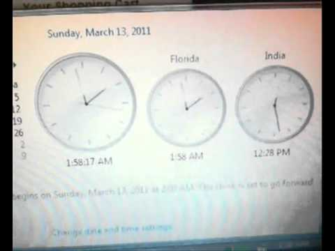 daylight saving 2011