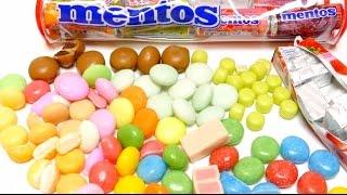 Mentos Chewing Gum & Mentos Rainbow, POP INS, Choco Special Editions Compilation