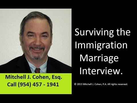 Immigration Interview Video (Surviving the USCIS Marriage Interview)