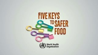 World Health Organization: 5 Keys to safer food -2015