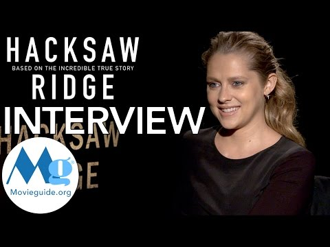 HACKSAW RIDGE Interview feat: Teresa Palmer