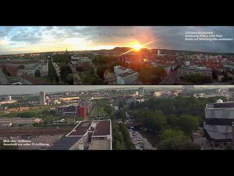 Video Panorama Blick über Heilbronn, BUGA
