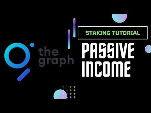 How To Stake The Graph Token   Passive Income With Crypto