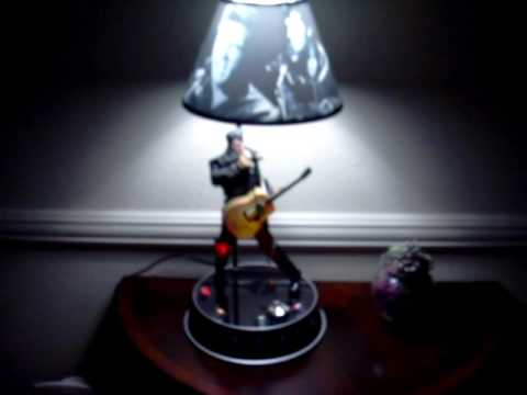 Elvis Presley Lamp Dances And Sings!