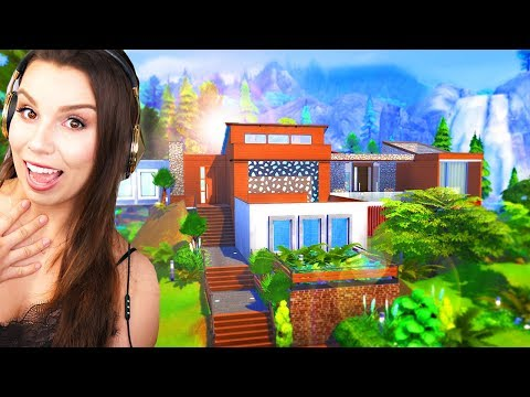 AMAZING Forest Home Build | The Sims 4