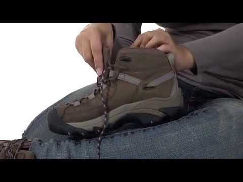 283f10022a0 KEEN Women's Targhee II Mid Waterproof Hiking Boots Review ...